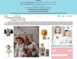 momentbebe.com screenshot