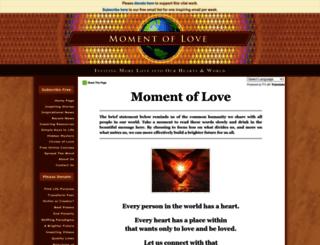 momentoflove.org screenshot