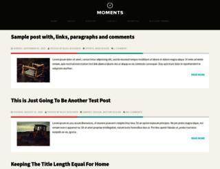moments-theme.blogspot.in screenshot