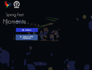 moments.springfest.in screenshot