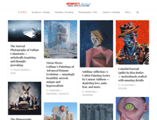 momentsjournal.com screenshot
