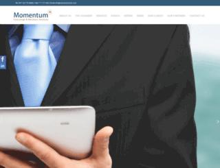 momentumcbs.com screenshot