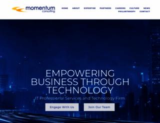 momentumcc.com screenshot