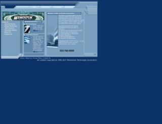 momentumtechnology.com screenshot
