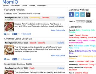 momiq.curatasite.com screenshot