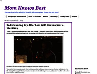 momknowsbest15.blogspot.com screenshot