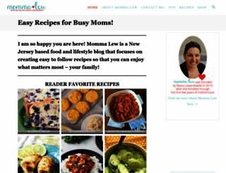 mommalewsblog.blogspot.com screenshot