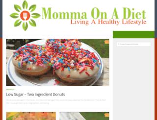 mommaonadiet.com screenshot