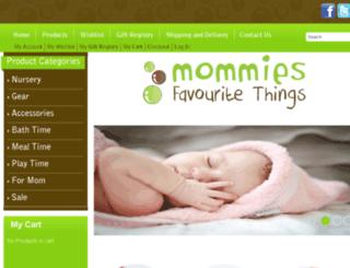 mommiesfavouritethings.com screenshot