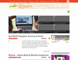 mommybloggersphilippines.com screenshot