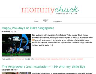 mommychuck.com screenshot