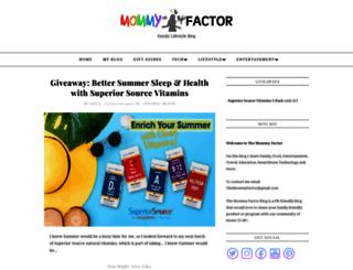 mommyfactor.net screenshot