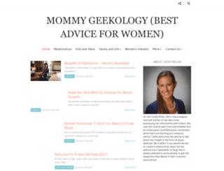 mommygeekology.com screenshot