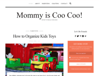 mommyiscoocoo.com screenshot