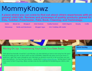 mommyknowz.ca screenshot