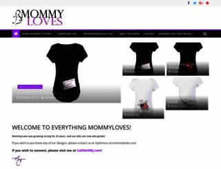 mommyloves.com screenshot