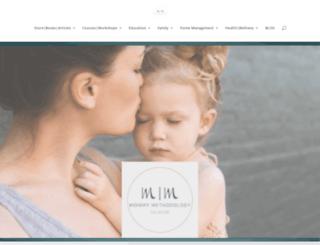 mommymethodology.com screenshot