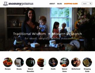 mommypotamus.com screenshot
