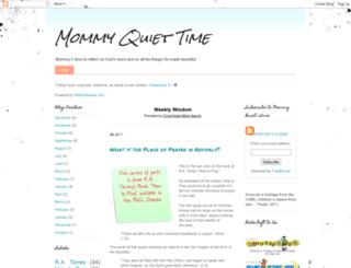mommyquiettime.blogspot.com screenshot