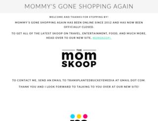 mommysgoneshoppingagain.com screenshot