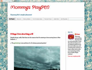 mommysplaypen.blogspot.com screenshot