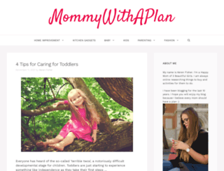 mommywithaplan.com screenshot