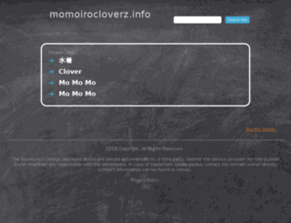 momoirocloverz.info screenshot