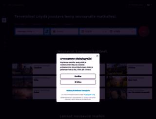 momondo.fi screenshot