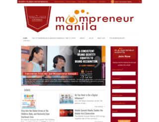 mompreneurmanila.com screenshot