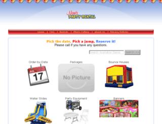 moms-party-rental.ershost.com screenshot