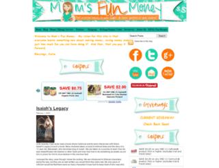 momsfunmoney.com screenshot