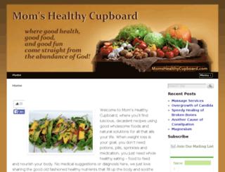 momshealthycupboard.com screenshot