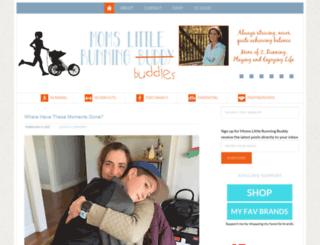 momslittlerunningbuddy.com screenshot
