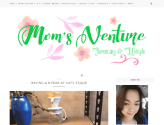 momsventure.blogspot.com screenshot