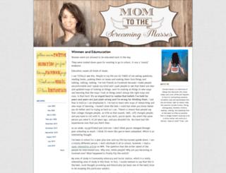 momtothescreamingmasses.typepad.com screenshot