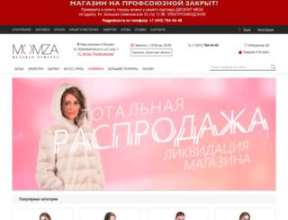 momza.ru screenshot