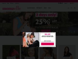 momzelle.com screenshot