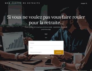 mon-calcul-de-retraite.fr screenshot
