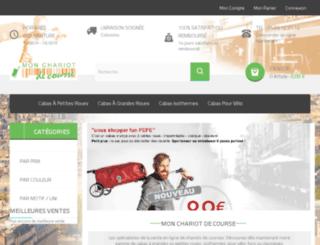 mon-chariot-de-course.com screenshot