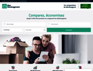 mon-demenagement.com screenshot