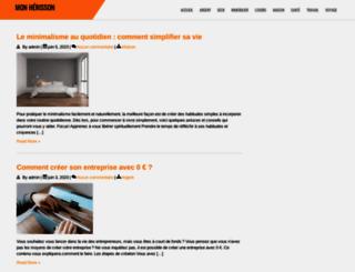 mon-herisson.com screenshot