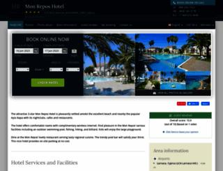 mon-repos.hotel-rez.com screenshot