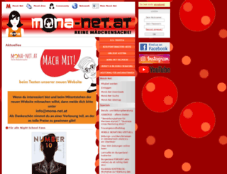 mona-net.at screenshot