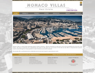 monaco-villas.com screenshot