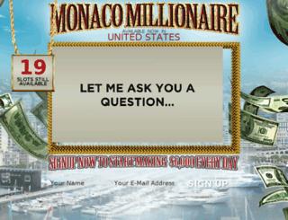 monacomillionaire.co screenshot
