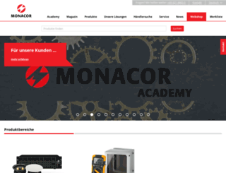 monacor.de screenshot