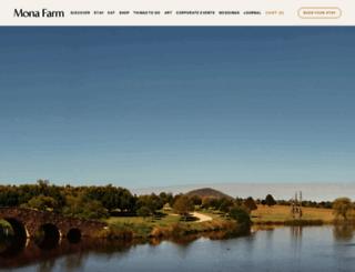 monafarm.com.au screenshot