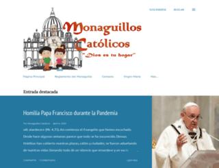 monaguilloscatolicos.blogspot.com screenshot
