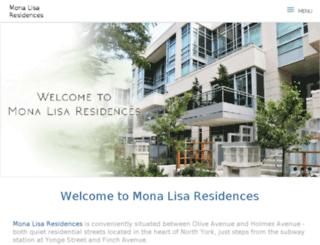 monalisa.vicommunity.ca screenshot