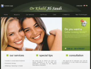 monalisadental.net screenshot